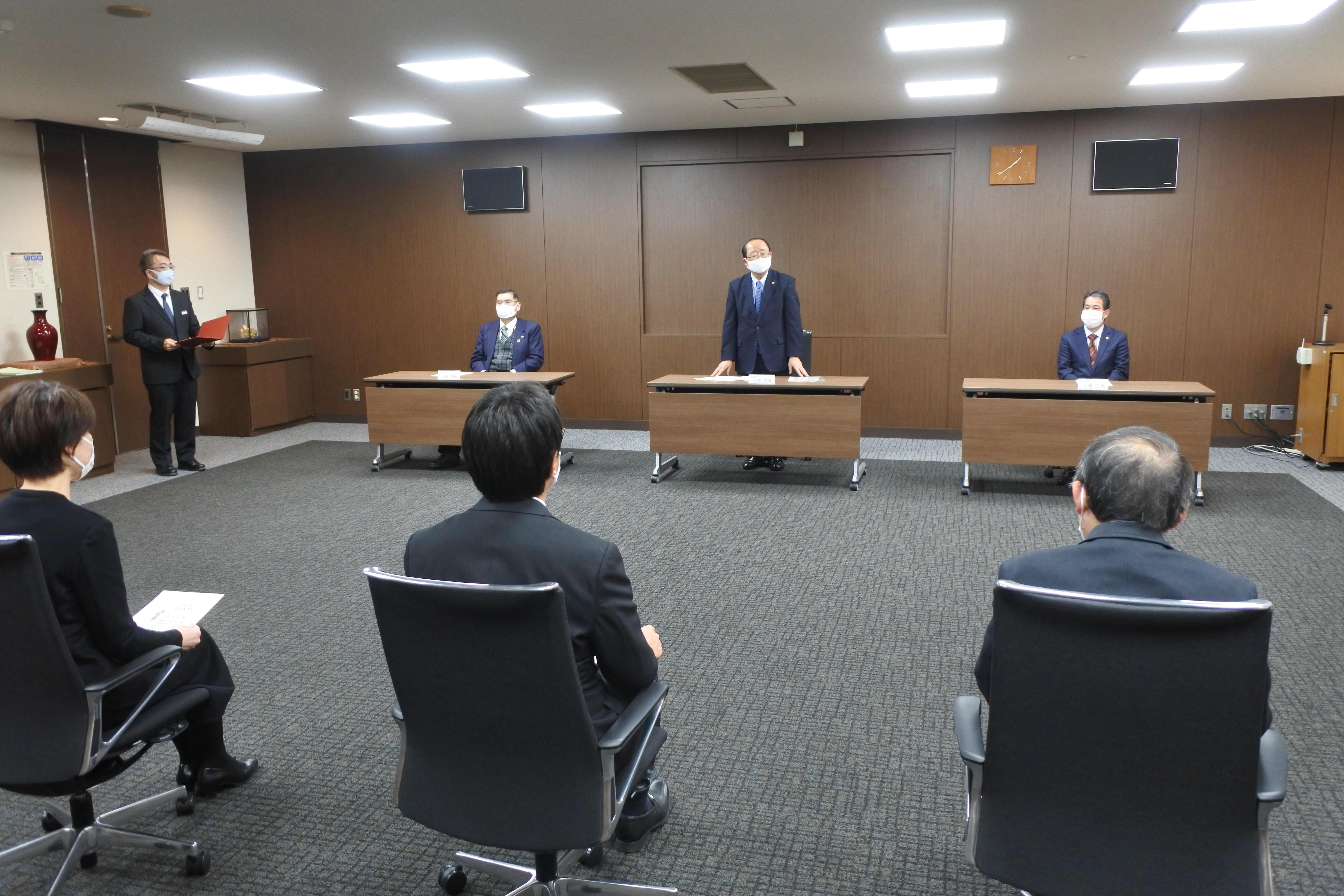 「改善に終わりはない」と説く立花貞司理事長