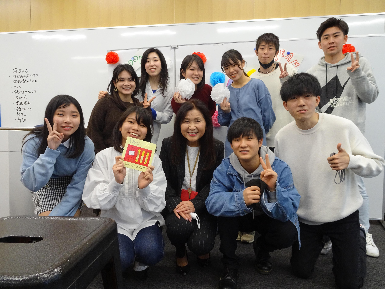 外国語学部の西尾ゼミ生がオンラインで公開講座 刈谷市の親子らに英語の絵本を読み聞かせ