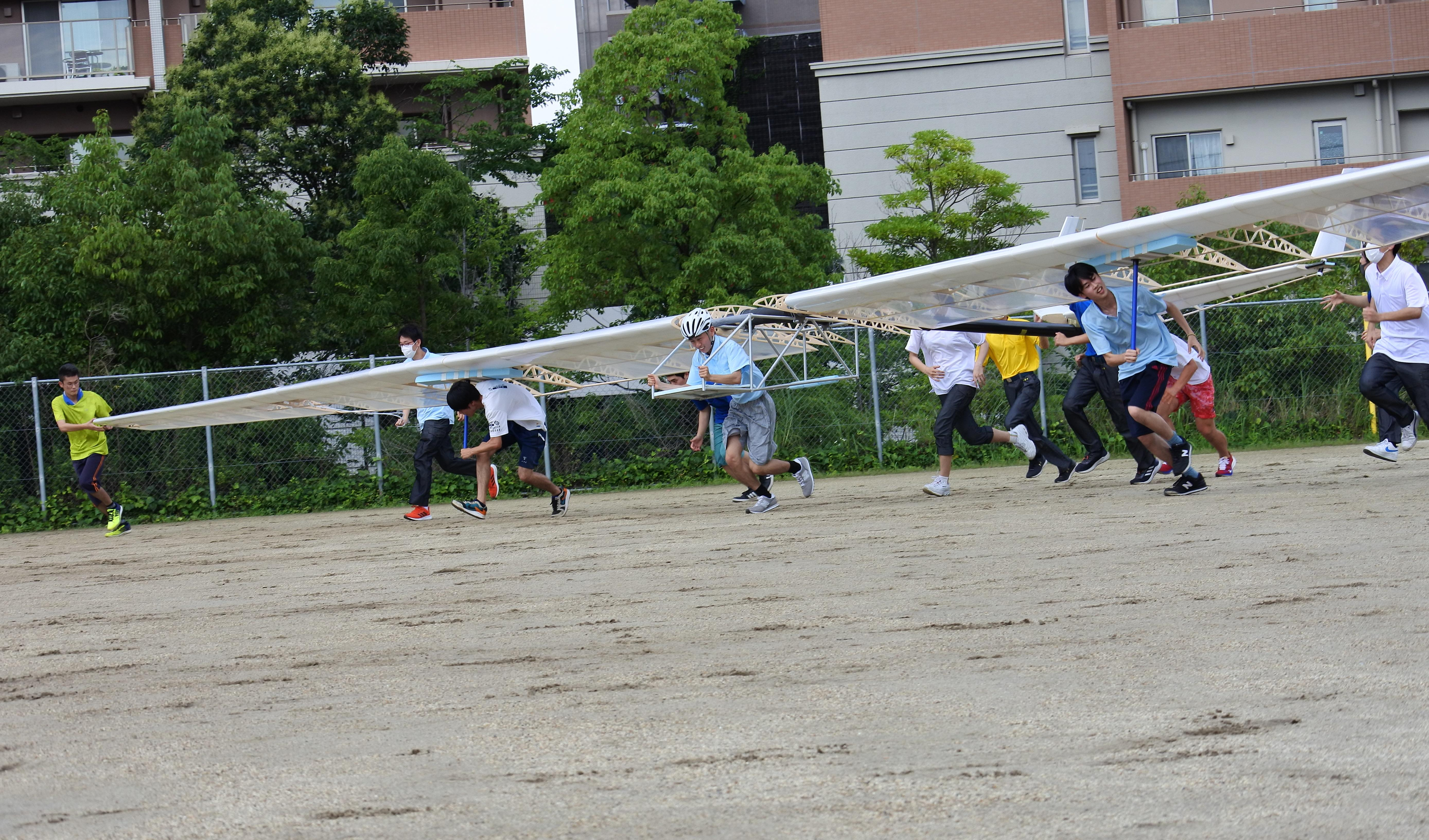 「コノウエ300M」の飛行練習