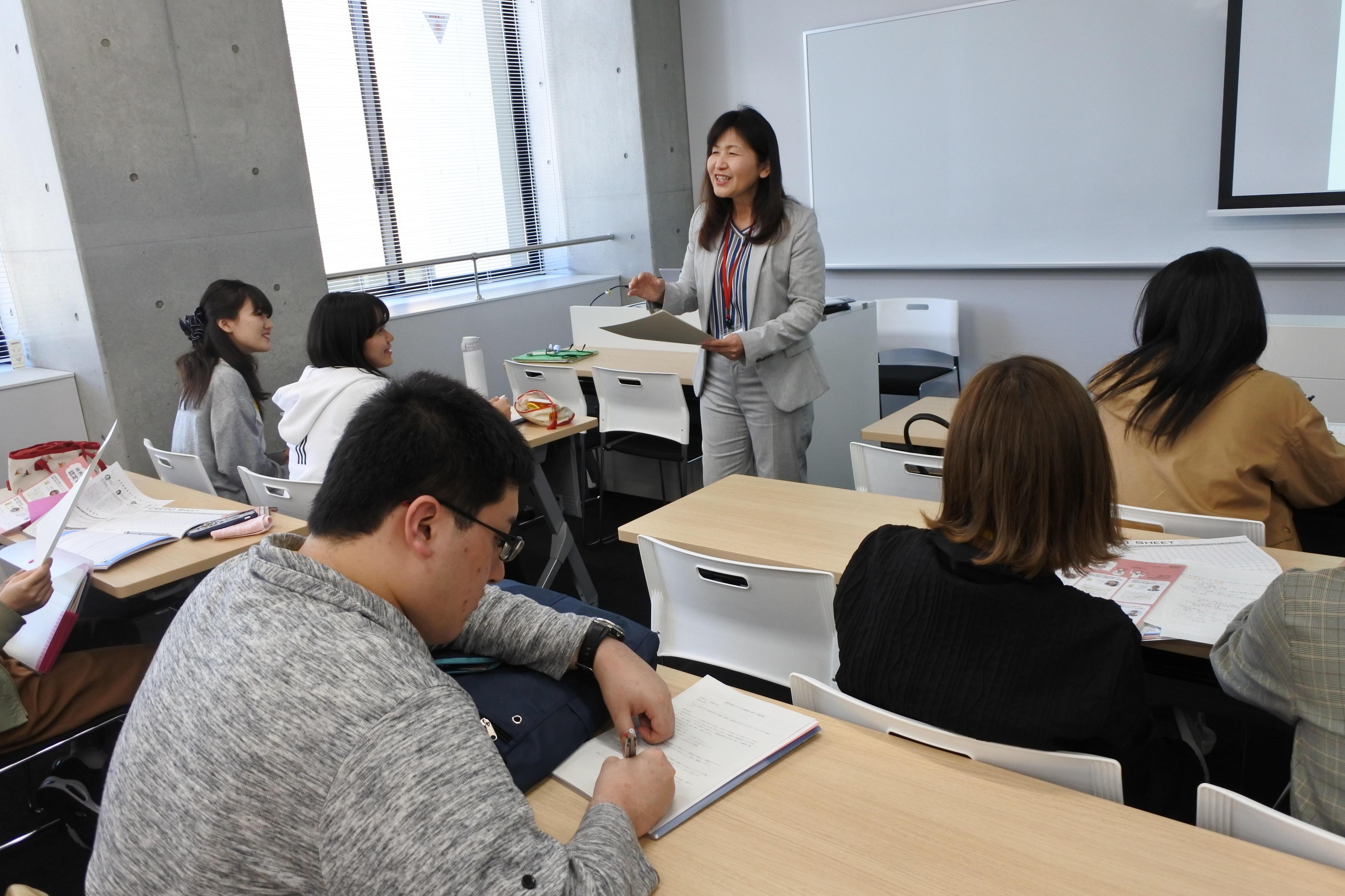 基礎演習Ⅰの授業風景