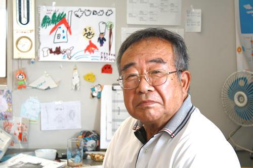 「ハングリ―精神を大事にしてほしい」と語る津田さん