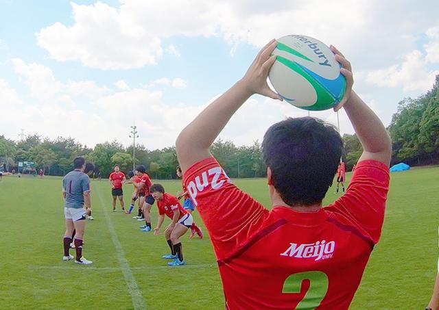 東海学生ラグビーリーグ制覇を目指す、名城大学ラグビー部