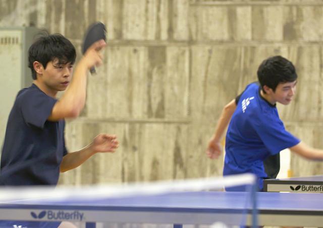 流行りじゃない楽しさがある。名城大学 卓球部